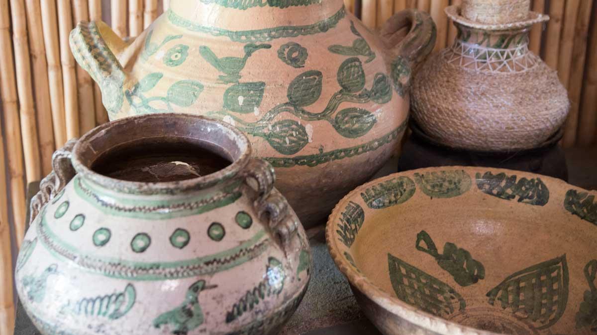 Azuay-style Pottery, Chobshi Museum, Sigsig, Ecuador | ©Angela Drake
