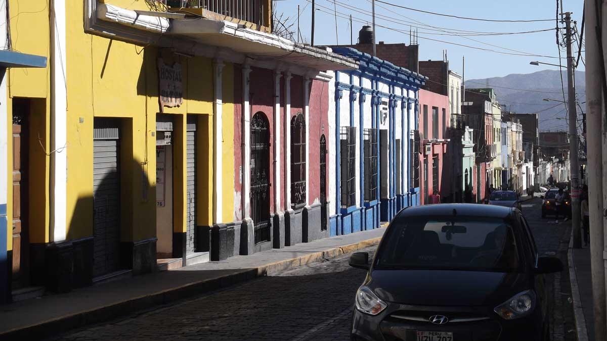 Street in Arequipa, Peru | ©Eleanor Hughes