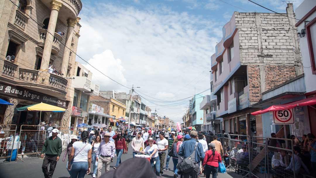 Before the Mama Negra Parade, Lagacunga, Ecuador   ©Angela Drake