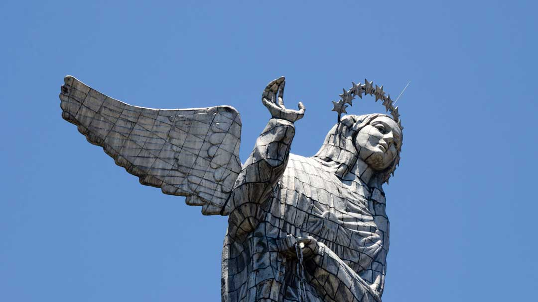 The Virgin of Quito at the Panecillo, Quito, Ecuador | ©Angela Drake