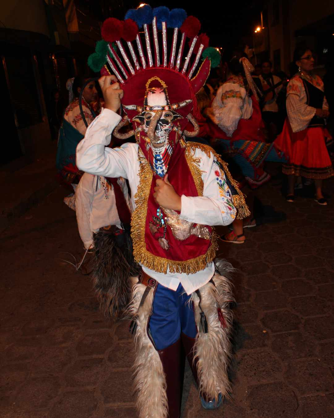 Aya Huma Celebrating Inti Raymi | ©Jacqueline Granda