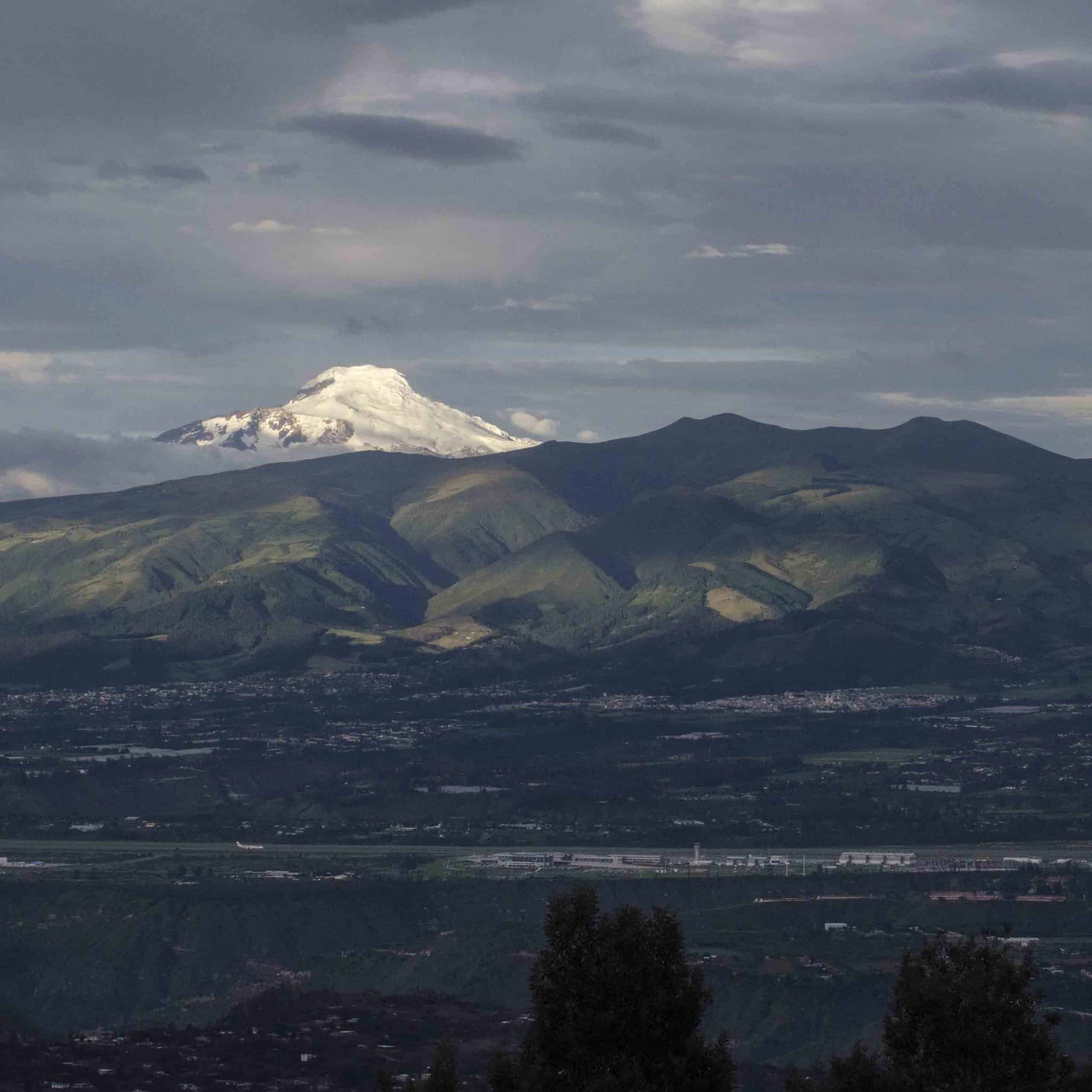 Cayambe from Quito, Ecuador | ©Angela Drake
