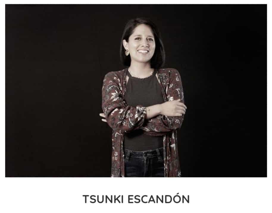 Tsunki Escandón  ©Kynku Marketing Digital