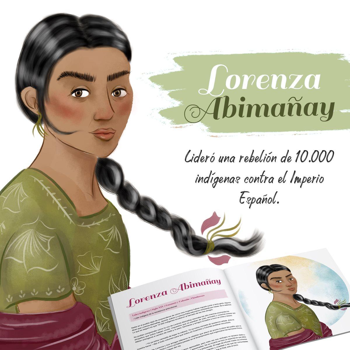 Lorenza Abimañay  ©KynkuMarketingSocial